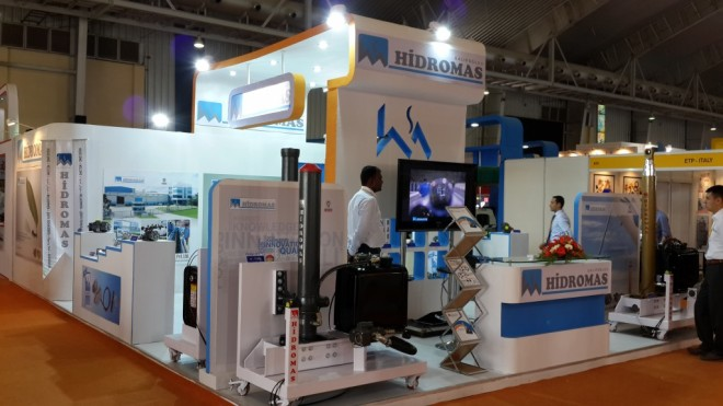Wooden Booth Builder Intersec Dubai