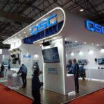 Exhibition Booth Contractor for QSC Audio Products in InfoComm India at Mumbai