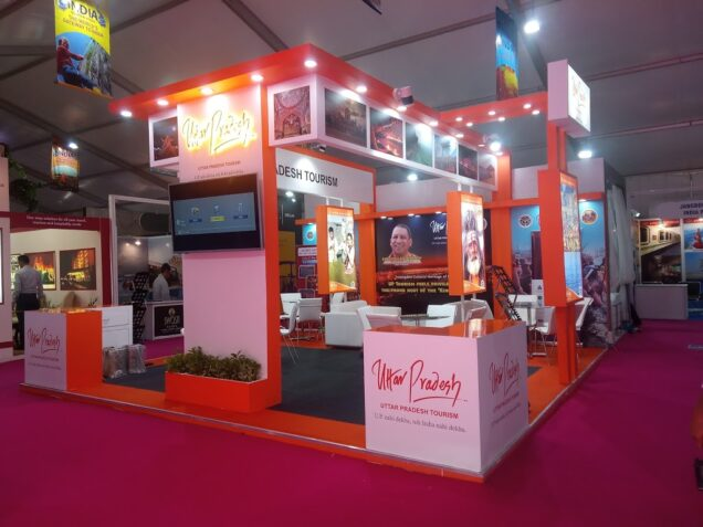 exhibition stall fabricator