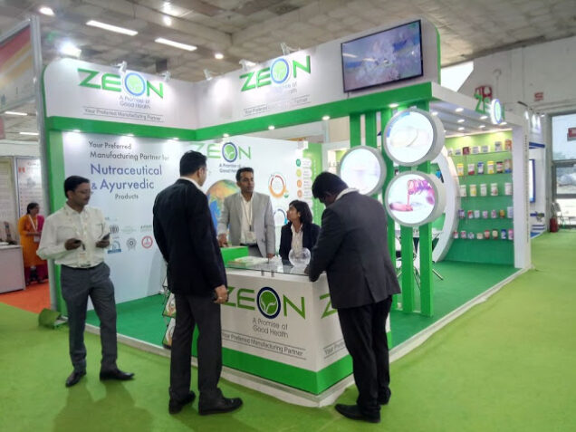 Zeon Lifesciences Ltd - IPHEX 2018 At Pragati Maidan, New Delhi